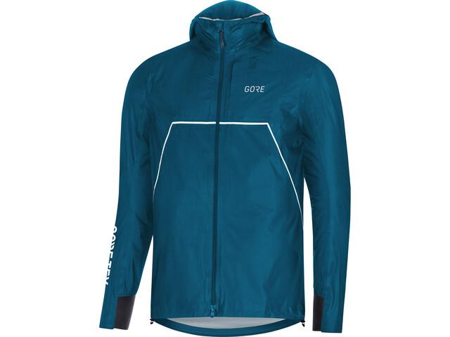 GORE WEAR R7 Gore-Tex Shakedry Trail - Chaqueta Running Hombre - azul